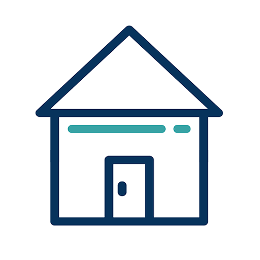 House with Door Icon